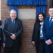 The Trustees of the Peter Harrison Foundation at the opening of the Harrison Centre