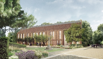Artist's impression of the new VI Form Centre
