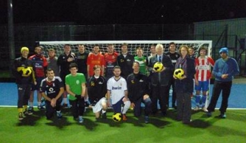 Old Dean Community Football Club group photo